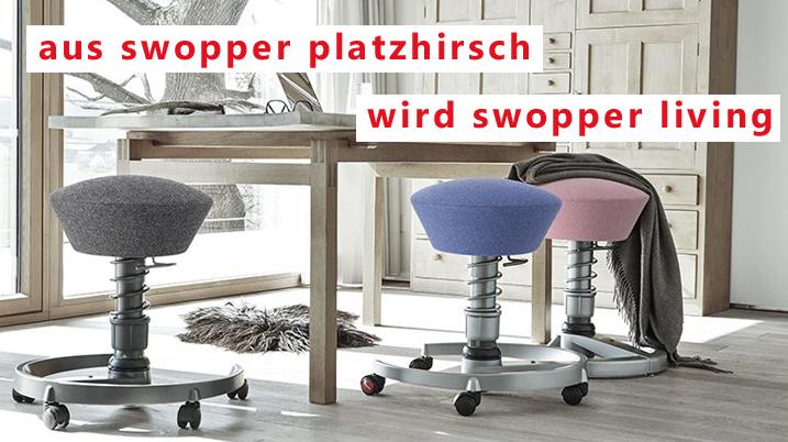 swopper platzhirsch swopper. Black Bedroom Furniture Sets. Home Design Ideas